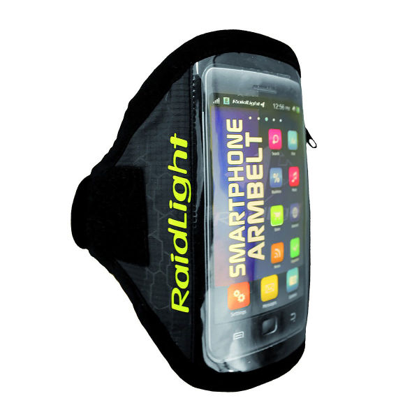 RAIDLIGHT Brassard running Smartphone Arm Belt Xl Blk/lime Grn Noir
