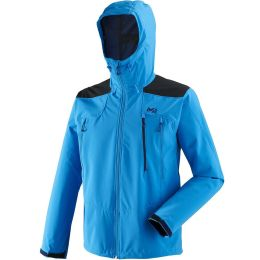 MILLET K SHIELD HOODIE ELECTRIC BLUE/BLUE DEPTHS 20