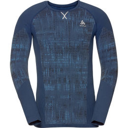ODLO T-SHIRT ML BLACKCOMB ESTATE BLUE 21