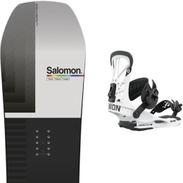SALOMON HUCK KNIFE 21 + UNION FLITE PRO WHITE 21
