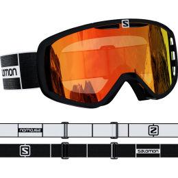 Protection du skieur SALOMON SALOMON AKSIUM BK/UNI MID RED 21 - Ekosport