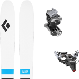 BLACK DIAMOND HELIO RECON 105 21 + DYNAFIT SPEED RADICAL SILVER 21