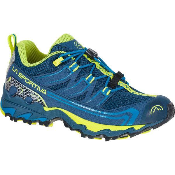 LA SPORTIVA Chaussure trail Falkon Low Opal/citrus Enfant Bleu/Jaune taille 33
