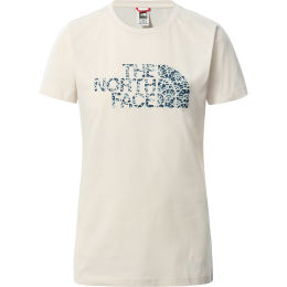 THE NORTH FACE W S/S EASY TEE VNTGWHT/MNRYBLUASBFLRPRNT 21
