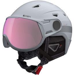 Casque ski CAIRN CAIRN SHUFFLE EVOLIGHT VISOR WHITE 20 - Ekosport