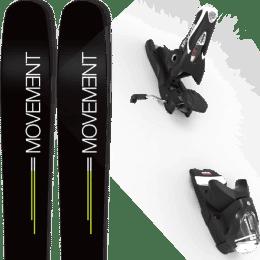 Pack ski alpin MOVEMENT MOVEMENT GO 109 19 + LOOK SPX 12 GW B120 BLACK 20 - Ekosport