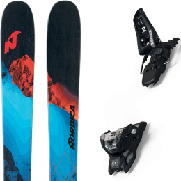 NORDICA ENFORCER 110 FREE 21 + MARKER SQUIRE 11 ID BLACK 21