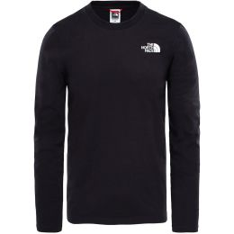 THE NORTH FACE M L/S EASY TEE TNF BLACK 19