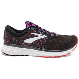 BROOKS GLYCERIN 17 W BLACK/FIERY CORAL/PURPLE 20