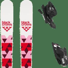 Boutique BLACK CROWS BLACK CROWS MAGNIS BIRDIE 20 + LOOK NX JR 7 GW B83 BLACK 21 - Ekosport