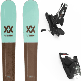 Pack ski alpin VOLKL VOLKL SECRET 102 20 + LOOK SPX 12 GW B100 BLACK 22 - Ekosport