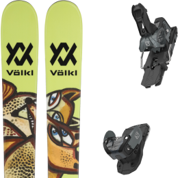 Pack ski alpin VOLKL VOLKL REVOLT 87 21 + SALOMON WARDEN MNC 13 N BLACK/GREY 20 - Ekosport