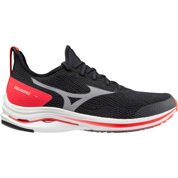 MIZUNO Chaussure running Wave Rider Neo Black/white/ignition Red Homme Noir/Rouge taille 6.5
