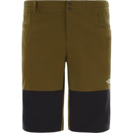 THE NORTH FACE M CLIMB SHORT FIR GREEN/TNF BLACK 20