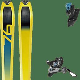 Ski randonnée DYNAFIT DYNAFIT SPEED 76 20 + SALOMON MTN PURE BLACK/BLUE W BR 22 - Ekosport