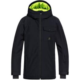 Vêtement de ski QUIKSILVER QUIKSILVER MISSION SOLID YOUTH JK BLACK 19 - Ekosport