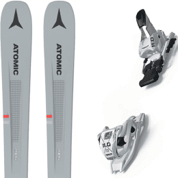 Pack ski alpin ATOMIC ATOMIC VANTAGE 86 C GREY/BLUE 21 + MARKER 11.0 TP WHITE 21 - Ekosport