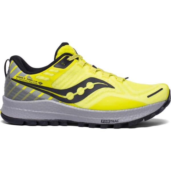 SAUCONY Chaussure trail Xodus 11 Citrus / Alloy Homme Jaune taille 8.5