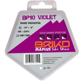 Encerar esqui BRIKO MAPLUS BRIKO MAPLUS BP10 VIOLET 100GR 20 - Ekosport