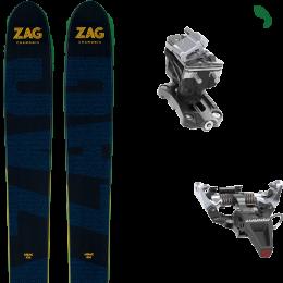 ZAG UBAC 102 21 + DYNAFIT SPEED RADICAL SILVER 21