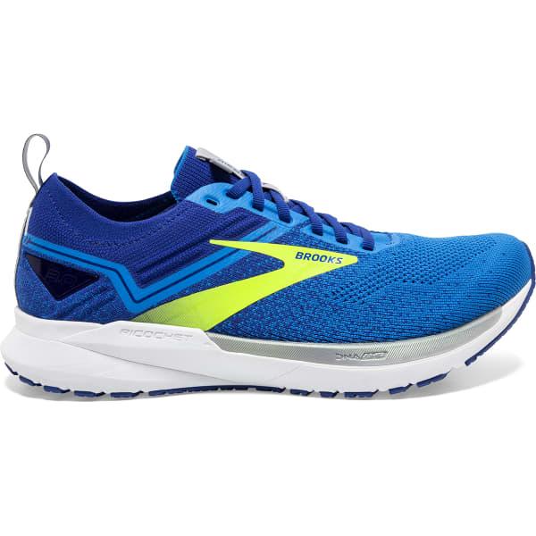 BROOKS Chaussure running Ricochet 3 Blue/nightlife/alloy Homme Bleu/Blanc taille 11