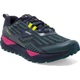 BROOKS CASCADIA 15 W NAVY/PINK/YELLOW 21