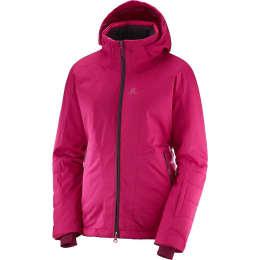 Vêtement hiver SALOMON SALOMON ALL GOOD JKT W CERISE 19 - Ekosport