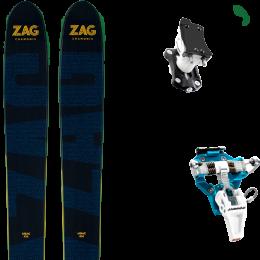 ZAG UBAC 102 21 + DYNAFIT SPEED TURN 2.0 BLUE/BLACK 21