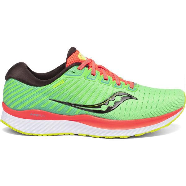 SAUCONY Chaussure running Guide 13 Green Mutant Homme Vert/Orange/Jaune taille \