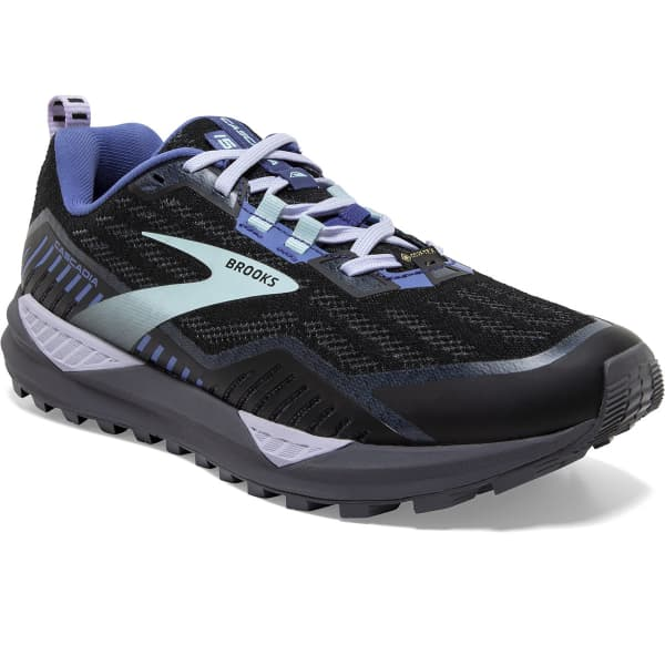 BROOKS Chaussure trail Cascadia 15 Gore-tex W Black/marlin/blue Femme Noir taille 8.5