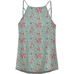 PATAGONIA W'S ALPINE VALLEY TANK QUILTY:GYPSUM GREEN 20