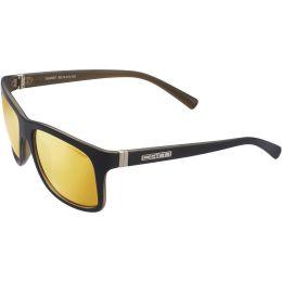 Protection du skieur CAIRN CAIRN SUNSET MAT BLACK GOLD 20 - Ekosport
