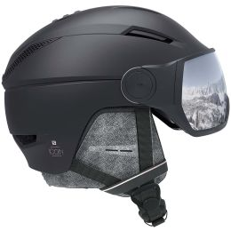 SALOMON ICON² VISOR BLACK/SILVER UNI 21