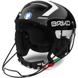 BRIKO SLALOM - FISI SHINY BLACK WHITE 21
