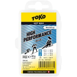 TOKO HOT WAX 40G BLUE 20