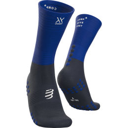 COMPRESSPORT MID COMPRESSION SOCKS BLUE LOLITE 21