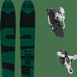 Ski randonnée ZAG ZAG ADRET 81 20 + ATK RAIDER 12 91 MM WHITE 21 - Ekosport