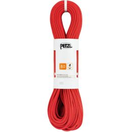 PETZL CORDE DOUBLE RUMBA ROUGE 8MM X 50M 21