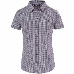 THE NORTH FACE W S/S BRYCE SHIRT BLACKBERRY WINE 17