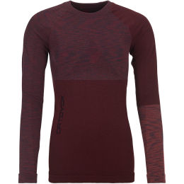 ORTOVOX 230 COMPETITION LONG SLEEVE W DARK WINE BLEND 21