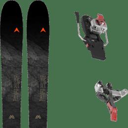 Ski randonnée DYNASTAR DYNASTAR M-VERTICAL 88 21 + ATK CREST 10 - 91MM 21 - Ekosport