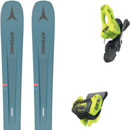 Pack ski alpin ATOMIC ATOMIC VANTAGE 97 C BLUE/GREY 21 + TYROLIA ATTACK² 11 GW BRAKE 100 [L] FLASH YELLOW 20 - Ekosport