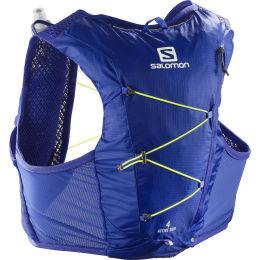 SALOMON ACTIVE SKIN 4 SET CLEMATIS BLUE/SAFETY YELLOW 21