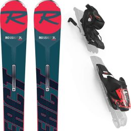 ROSSIGNOL REACT R6 COMPACT + XPRESS 11 GW B83 BLK/RED 20