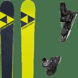 Pack ski alpin FISCHER FISCHER NIGHTSTICK 21 + SALOMON WARDEN MNC 11 BLACK L100 22 - Ekosport