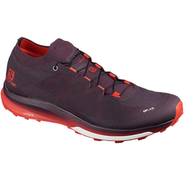SALOMON Chaussure trail S/lab Ultra 3 Maverick/racingred/m Homme Violet/Rouge taille \