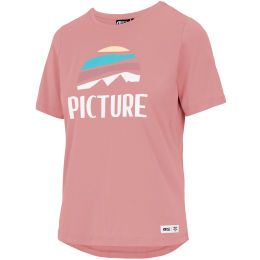 PICTURE KEY TEE W RUSTY PINK 21