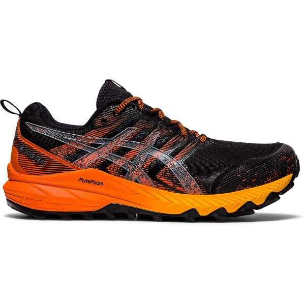 ASICS Chaussure trail Gel-trabuco 9 Gore-tex Black/sheet Rock Homme Noir/Orange taille 8.5