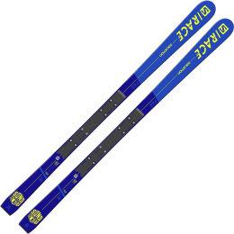 SALOMON I S/RACE PRO JR GS + JR RACETRAK BLUE/YELLOW 21
