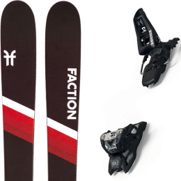 FACTION CANDIDE 2.0 YTH 21 + MARKER SQUIRE 11 ID BLACK 21